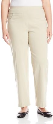 Ruby Rd. Women's Plus-Size Plus Pull-On Solar Millennium Super Stretch Pant