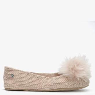 UGG Andi Amberlight Cotton Slip On Slippers