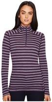 Smartwool NTS Mid 250 Pattern Zip Top Women's Long Sleeve Pullover