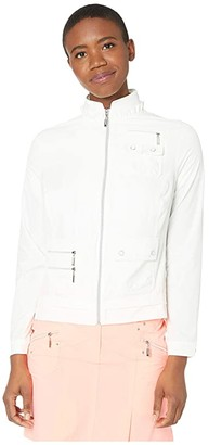 Jamie Sadock Airwear(r) Lightweight Jacket (Sugar White) Women's Jacket