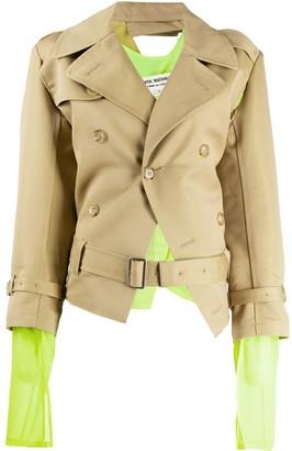 Junya Watanabe Double Breasted Layered Jacket