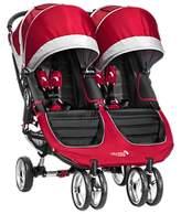 Baby Jogger City Mini Twin Pushchair, Crimson/Grey