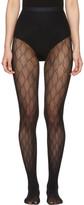 Gucci Black GG Supreme Stockings