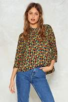 Nasty Gal nastygal All Sun and Games High-Neck Blouse