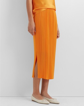 Club Monaco Micropleat Skirt