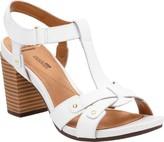 Clarks Women's Banoy Valtina T-Strap Sandal