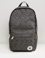 Converse Reflective Rain Patch Backpack In Black