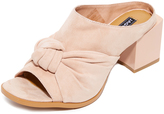 Jaggar Shift Block Heel Mules