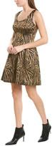 Prabal Gurung Classic Molded Silk-Lined A-Line Dress