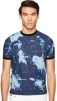 DSQUARED2 Street Ska Denim Side Zip T-Shirt Men's T Shirt