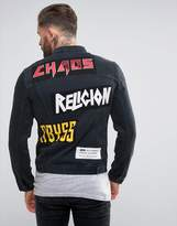 Religion Denim Jacket With Patches
