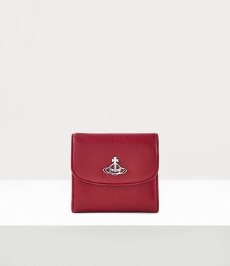 Vivienne Westwood Johanna Medium Wallet With Coin Pocket Red