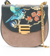 Etro oriental printed shoulder bag - women - Calf Leather/Polyester - One Size