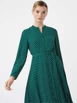 Hobbs Tarini Dress - Green/Ivory