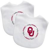 Baby Fanatic NCAA Oklahoma Sooners Bib Set - 2 Pack