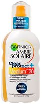 Garnier Ambre Solaire Clear Protection Spray SPF20 200ml