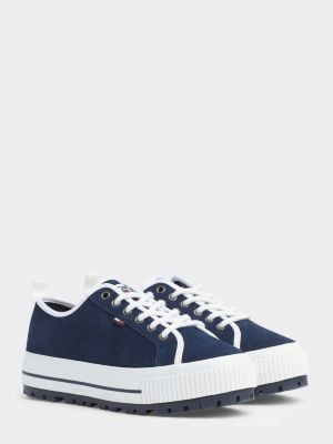 Tommy Hilfiger Suede City Trainers