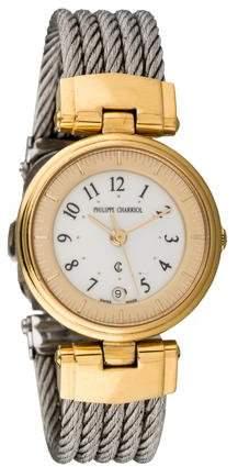 Charriol Steel Cable Bracelet Watch