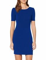 Dorothy Perkins Women's Short Puff Sleeve Bodycon Mini Dress