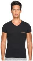 Emporio Armani Stretch Cotton Color Multipack V-Neck Men's T Shirt