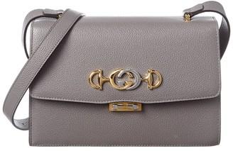 Gucci Zumi Small Grainy Leather Shoulder Bag