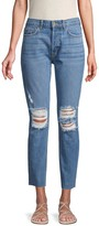 Siwy Gaby Deconstructed Skinny Ankle Jeans