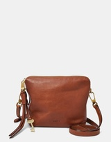 Fossil Maya Brown Crossbody