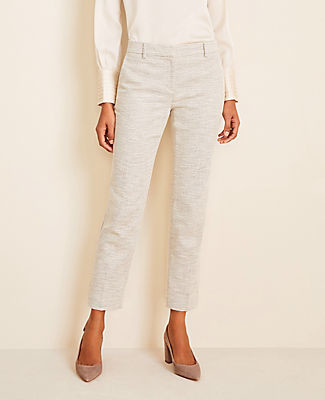 Ann Taylor The Tall Ankle Pant in Texture