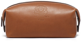 Ghurka Chestnut Leather Dopp Kit