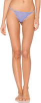 Calvin Klein Underwear Sheer Marq Thong