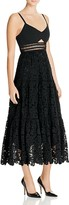 Rebecca Taylor Pique Lace Dress