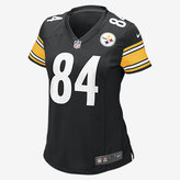 Nike NFL Pittsburgh Steelers Game Jersey (Antonio Brown) Women's Football Jersey