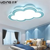 Lilamins Children'S Room Ceiling Light Clouds Boys And Girls Remote Eye Creative Led LightingLighting for Living Room?Office , Bathroom, Kitchen, Hallway, Flush Ceiling Lights, 550*350Mm