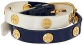 Tory Burch Color Block Logo Stud Double Wrap Bracelet Bracelet