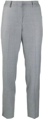 Peserico Cropped Virgin Wool Trousers