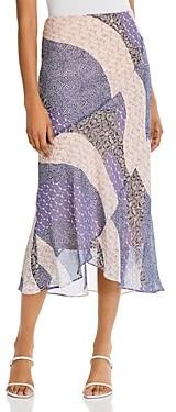 BB Dakota Patch Me In Ruffled Maxi Skirt