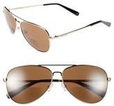 Bobbi Brown The Tribeca 50mm Aviator Reading Sunglasses