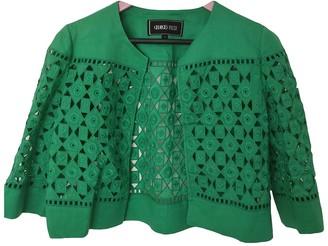 Georges Rech Green Linen Jacket for Women