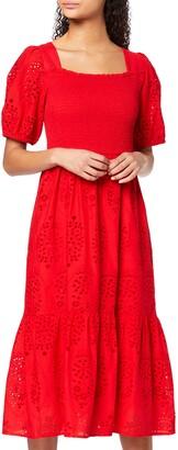 Find. Amazon Brand Women's Midi Cotton Boho Dress
