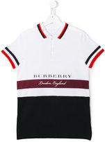 Burberry striped polo shirt