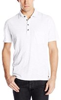 7 For All Mankind Men's Lightweight Short Sleeve Polo Shirt