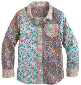 J.Crew Girls' liberty pocket shirt in mixed floral