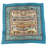 Hermes Carré silk silk handkerchief