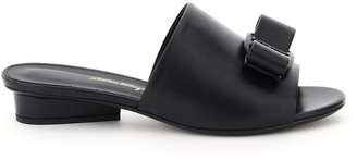 Salvatore Ferragamo Valery Leather Mules