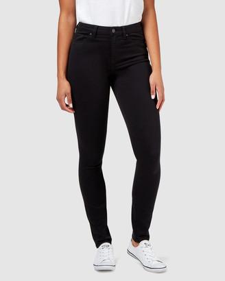 Jeanswest Butt Lifter Skinny Jeans Black Night