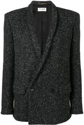 Saint Laurent knitted blazer jacket