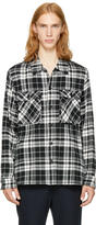 TOMORROWLAND Black and White Plaid Shirt