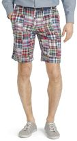 Izod Men's Madras Patchwork Shorts