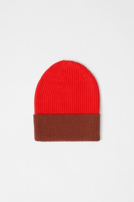 French Connection Mozart Colourblock Beanie