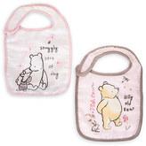 Disney Winnie the Pooh Bib Set for Baby - Pink - 2-Pack